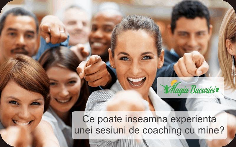Ce poate inseamna experienta unei sesiuni de Coaching cu Laura Ioana Popescu