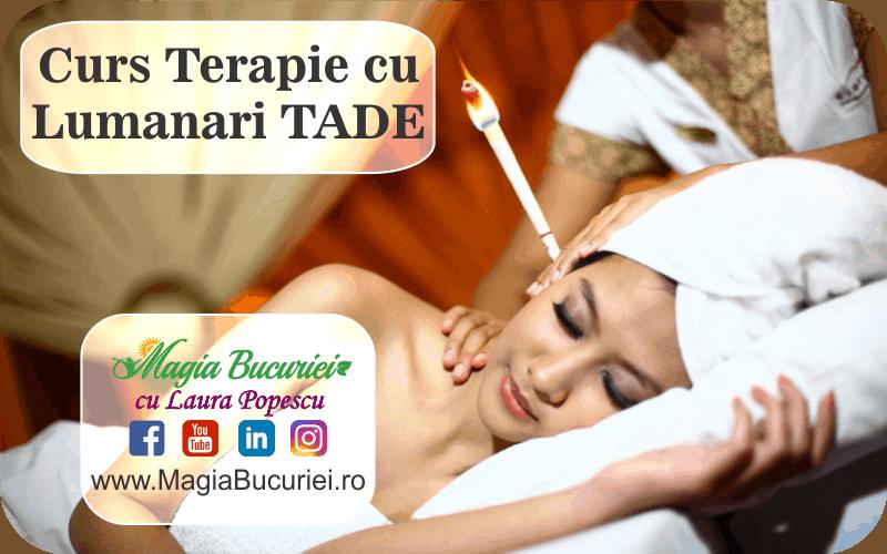 CURS Terapie cu Lumanari Tade – urechi si corporal – Descriere