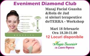 Workshop Masaj facial guasha - marti 18 februarie 2020