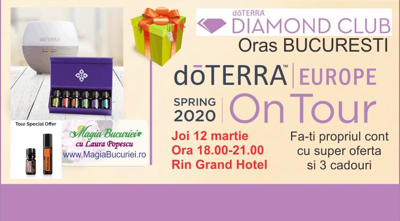 Diamond Club doTERRA Spring Tour – 12 martie – BUCURESTI