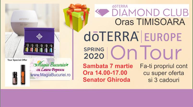 Diamond Club doTERRA Spring Tour – 7 martie – TIMISOARA