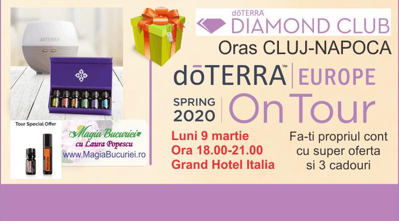 Diamond Club doTERRA Spring Tour – 9 martie – CLUJ-NAPOCA