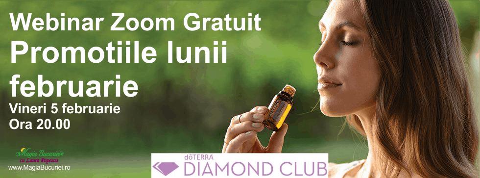 ONLINE Educatie pentru Sanatate – Eveniment Diamond Club – Promotiile lunii februarie